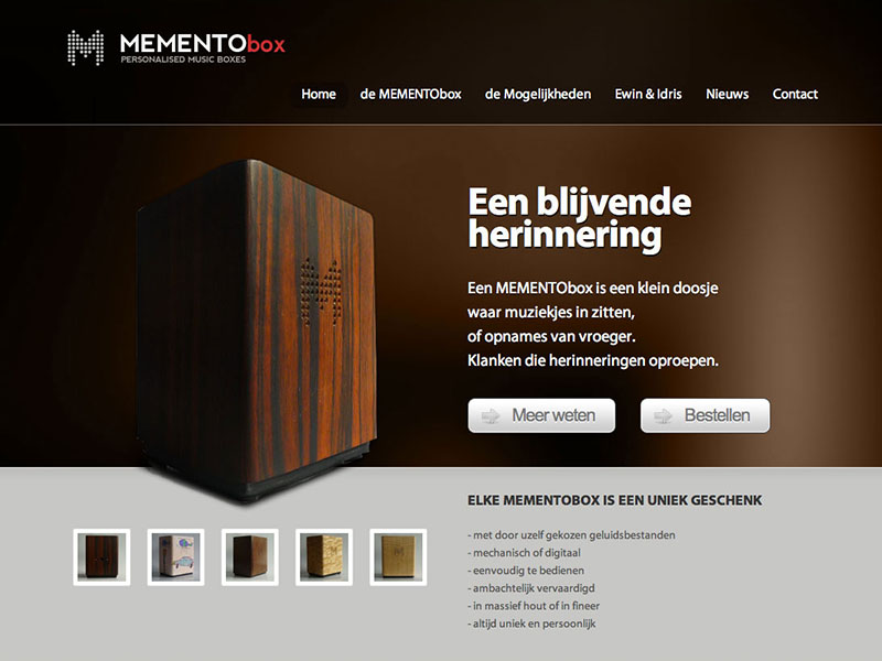 Mementobox - Personalised Music Boxes